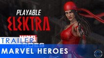 Elektra Joins the Fight in Marvel Heroes 2016