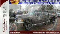 2007 Chevrolet Silverado 2500HD Ironwood MI Rhinlander, MI #20437T