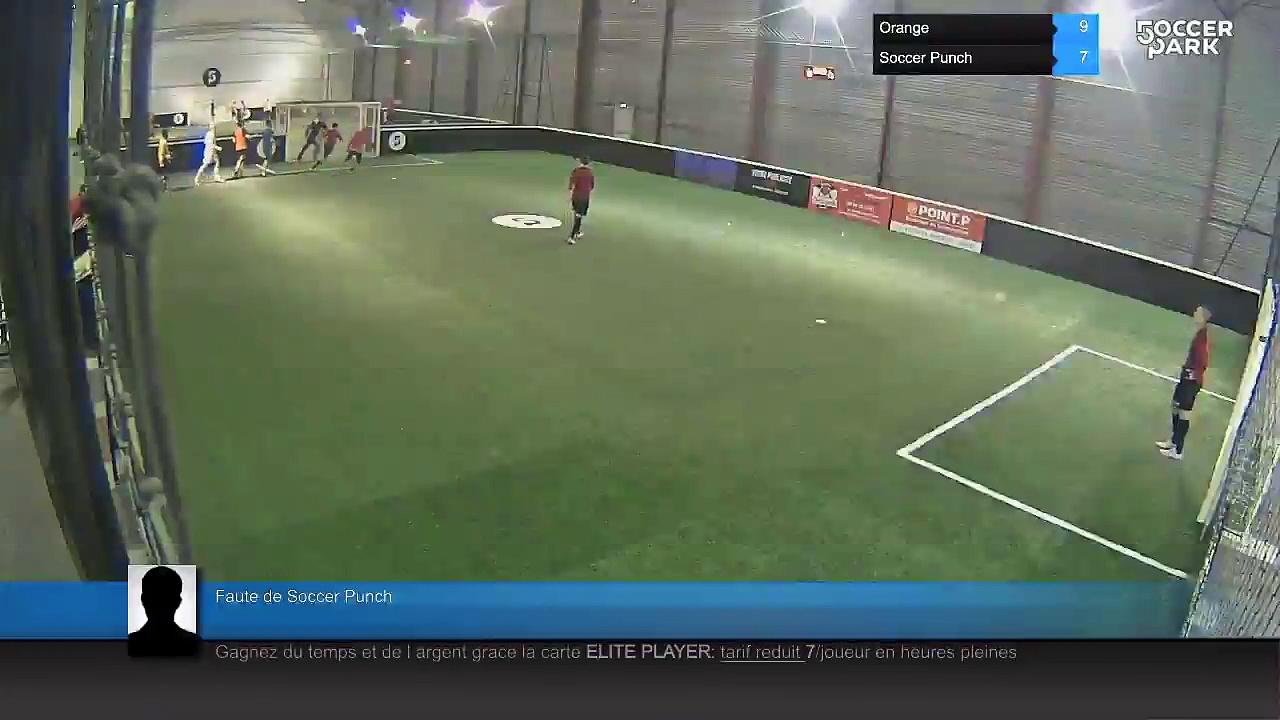 Faute de Soccer Punch – Orange Vs Soccer Punch – 11/04/16 21:00 – Ligue B 2016 – Orleans Soccer Park