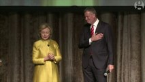 Clinton and De Blasio criticized for racially tinged joke