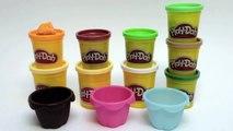 Play Doh Cupcakes Recipe Carrot Cake Apple Pie How to make Playdough Cupcakes Part 1