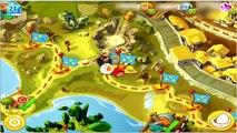 Angry Birds Epic: Old Nesting Barrow (The Yellow Master Thunderbird vs The Red Sword Spirit Bird)