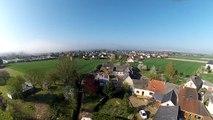 vidéo aérienne faite avec le drone Phantom DJI et la Gopro Héro3