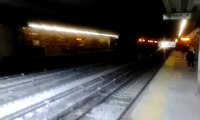 Metro-North: Northbound M3A EMU Train Bypasses Fordham Road Station