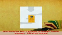 PDF  America Driver Test  translated to Russian Russian language  USA driver manual Read Online