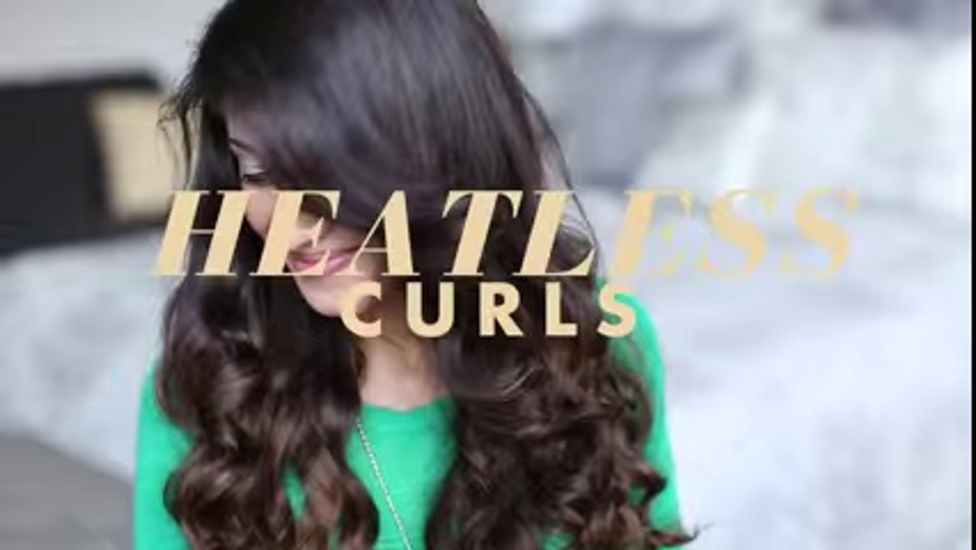 Heatless Curls Hair Tutorial2 - hair styles