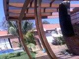 Demis backyard wrestles (Samuel and peg vs demi) (demi gets