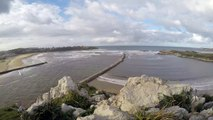 Oleaje en el Mar Cantábrico - Cuchía GoPro 4K