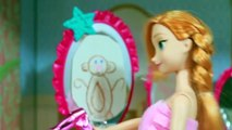 PRANK 4 Kristoff Pranks Anna Hides Her Dress, Monkey Mirror Disney Frozen Parody AllToyCollector
