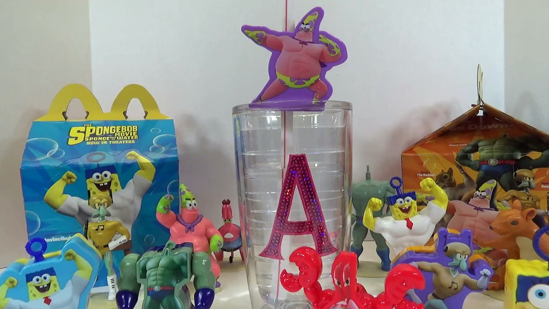 Spongebob Movie Sponge Out Of Water Mcdonalds Happy Meal Toys