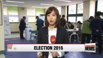 Election 2016: Voting ongoing in Seoul's key Jongno district