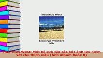 PDF  Mauritius West Một bộ sưu tập các bức ảnh lưu niệm với chú thích màu Ảnh Album Book 8 Download Online