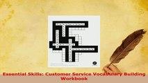 PDF  Essential Skills Customer Service Vocabulary Building Workbook Read Full Ebook