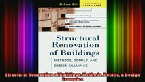 Read  Structural Renovation of Buildings Methods Details  Design Examples  Full EBook