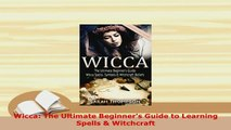 PDF] Witchcraft: The Beginners Choice for Learning Witchcraft: Cast