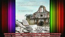 Read  Lost Architecture of the Rio Grande Borderlands Fronteras Series sponsored by Texas AM  Full EBook