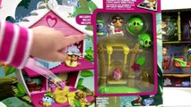 Angry Birds Stella Telepod Tree House Playhouse, Birds Rock Together Toy Review
