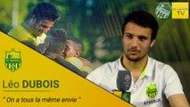 Léo Dubois avant FCN-MHSC