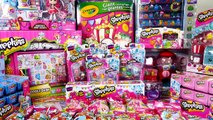 ~☀*★~ SHOPKINS SHOPPING SPREE ~☀*★~ MEGA Shopkins Haul | Biggest Shopkins Toys Shopping Haul Video