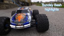 YRP RC - PURE RC ACTION MONSTER BASH HPI SAVAGE FLUX TRAXXAS REVO SUNDAY HIGLIGHTS
