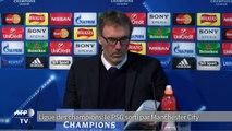 Ligue des champions: le PSG éliminé par Manchester City