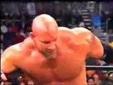 WWE WCW-End of the Hitman Goldberg kick to the head on Bret