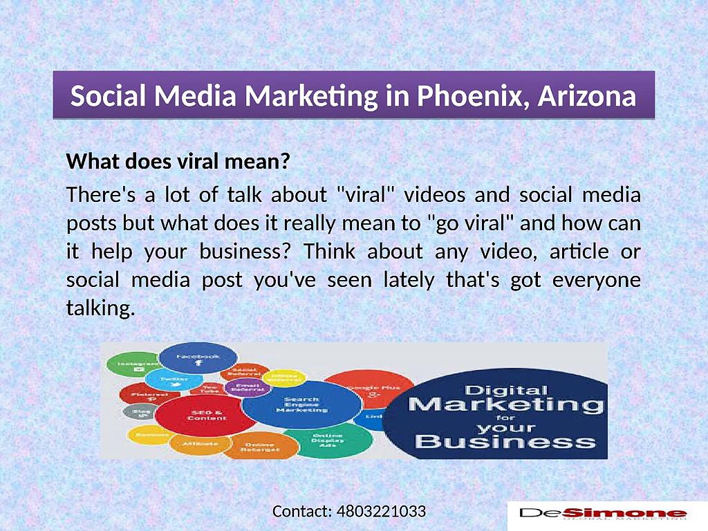 Social Media Marketing in Phoenix, Arizona