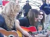 MEGADETH Acoustic Live Holy Wars Argentina Plaza Francia Buenos Aires October 08 2005
