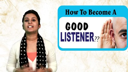 Tips To  Become Good Listener !! 5 Tips Of Listening skills !! ViaNet Learning