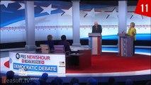Democratic Debate in 90 Seconds: Bernie Sanders & Hillary Clinton