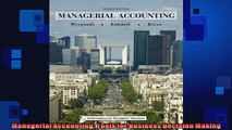 FREE PDF  Managerial Accounting Tools for Business Decision Making  FREE BOOOK ONLINE