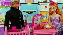 Elsa in Tangled Mini Movie Flynn Saves Rapunzel from Mother Gothel Final Part 3. DisneyToysFan