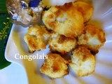 Congolais - Gâteau à la noix de coco - Coconut Cake - Pastel al coco
