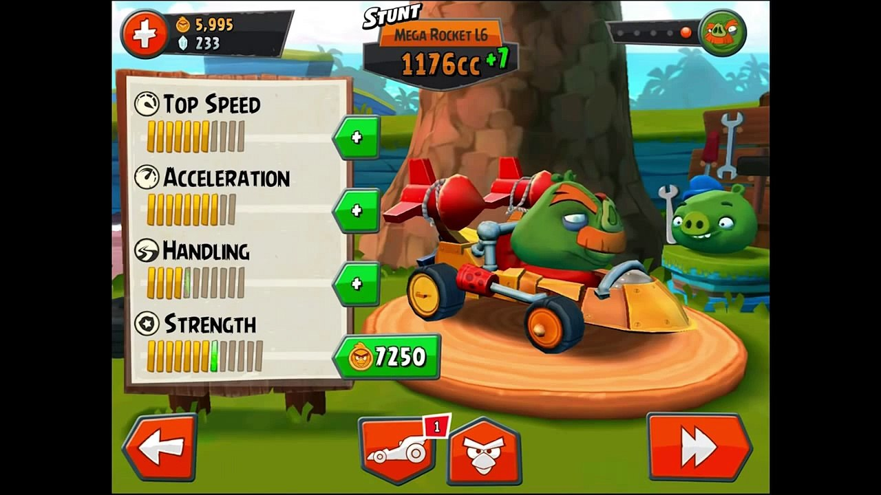 Angry Birds Go! Gameplay Walkthrough Part 29 - Drifting! Stunt (iOS,  Android) – Видео Dailymotion