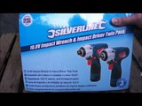 10.8v silverline impact wrench and impact driver twin pack demo