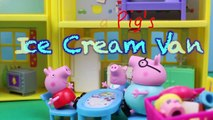 Peppa Pig Park Ice Cream Van Muddy Puddles Frozen Elsa, Barbie, Lego Duplo Spiderman DisneyCarToys