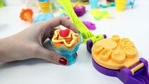 Playmobil Summer Fun Ice Cream Parlor Playset + Peppa Pig Ice Creams Play Doh Ice Creams Part 8