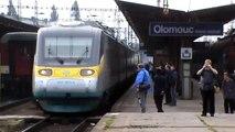 Olomouc hlavní nádraží - odjazd SC Pendolino