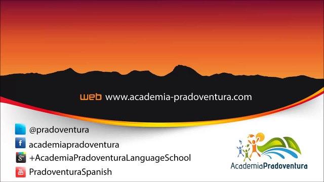 Gramática española: Presente de los verbos regulares | Spanish grammar: Regular verbs in the present
