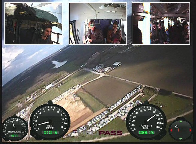 Votre video embarquee Helipass  B030130416HP0001