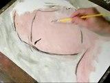 speed painting of SCARLETT JOHANSSON sister - by Di Ceglia
