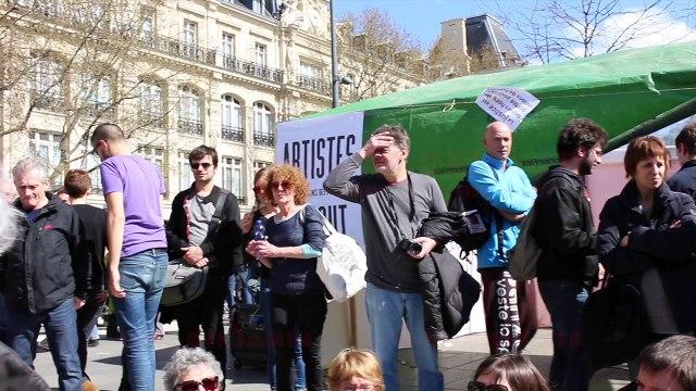 #NuitDebout privatise t-il l'espace public? Réponse de Benjamin Coriat.