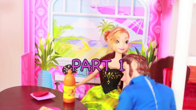 FROZEN Love Is An Open Door PART 2 Anna & Hans Disney Barbie Parody PIZZA HUT AllToyCollector