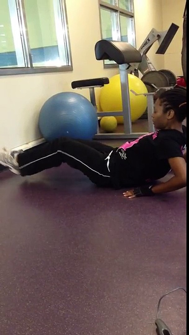 Part 4(Core/abs) of 4: Prone Plank and V-ups