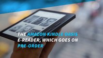 Pre-order your Amazon Kindle Oasis today