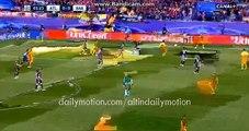 FC Barcelona 1st Big Chance - Atletico Madrid vs Barcelona - Champions League - 13.04.2016