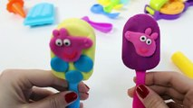 Peppa Pig Play Doh Ice Creams Peppa Playsets Play Dough Ice Cream Parlor Toy Videos Part 5