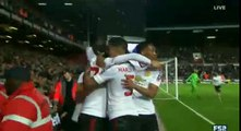 Marouane Fellaini Goal West Ham 0 - 2 Manchester United FA Cup 13-4-2016