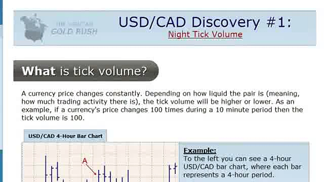 Forex Trading Strategies That Work- How To Profit From Night Tick Volume