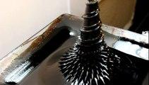 ferrofluid art sculpture